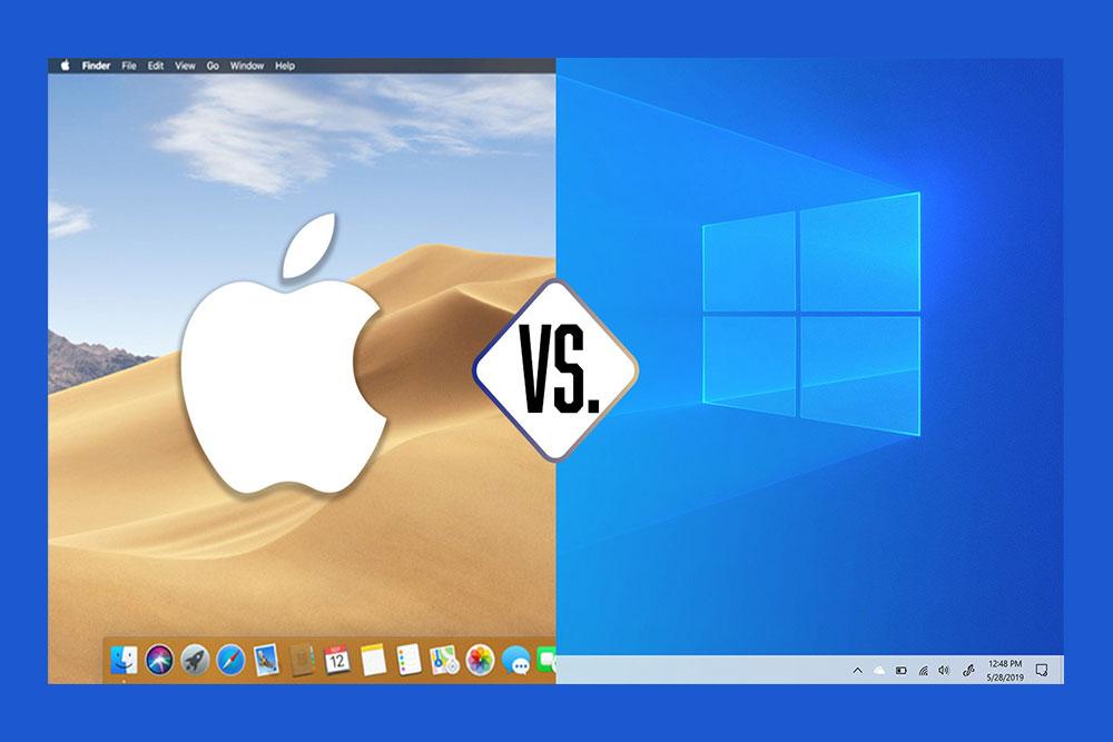 تفاوت در سیستم عامل ( تفاوت مک بوک با دیگر لپ تاپ ها )