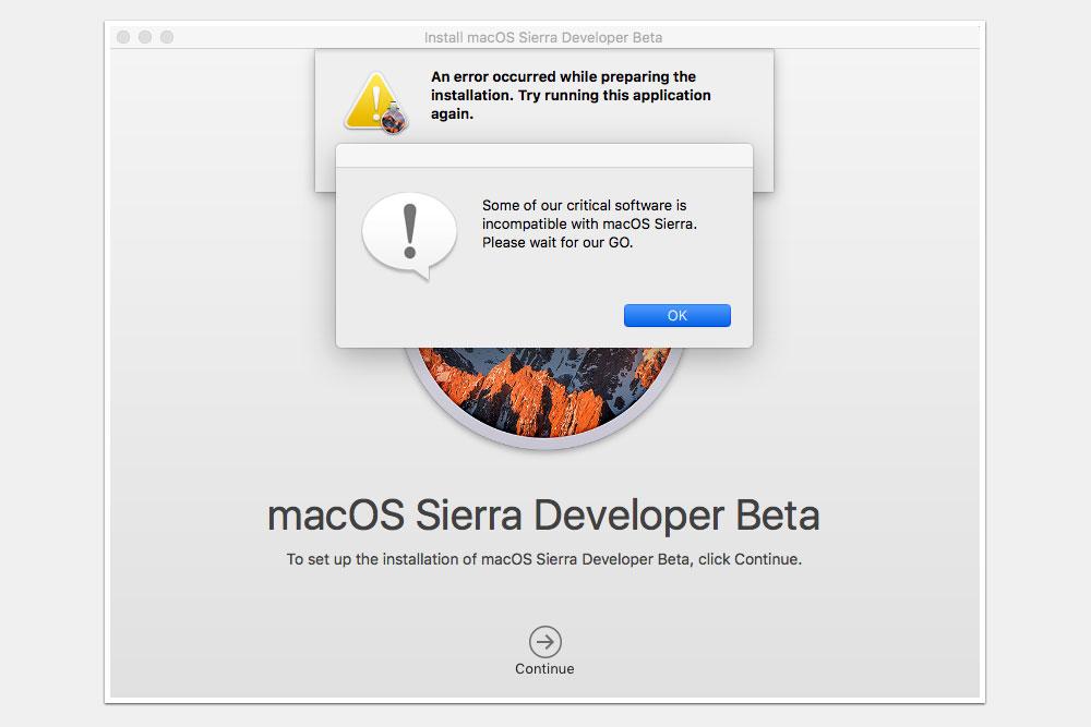 محدودیت نصب برخی از برنامه ها ( تفاوت مک بوک با دیگر لپ تاپ ها )
