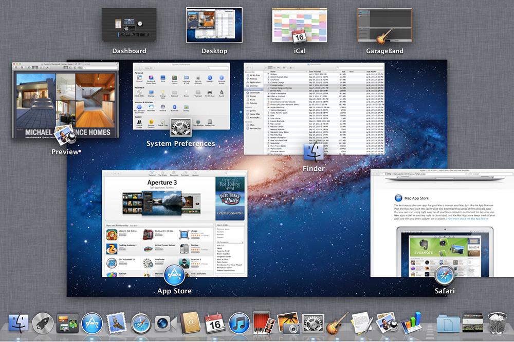 ویژگی های سیستم عامل مک بوک ( سیستم عامل مک بوک )
