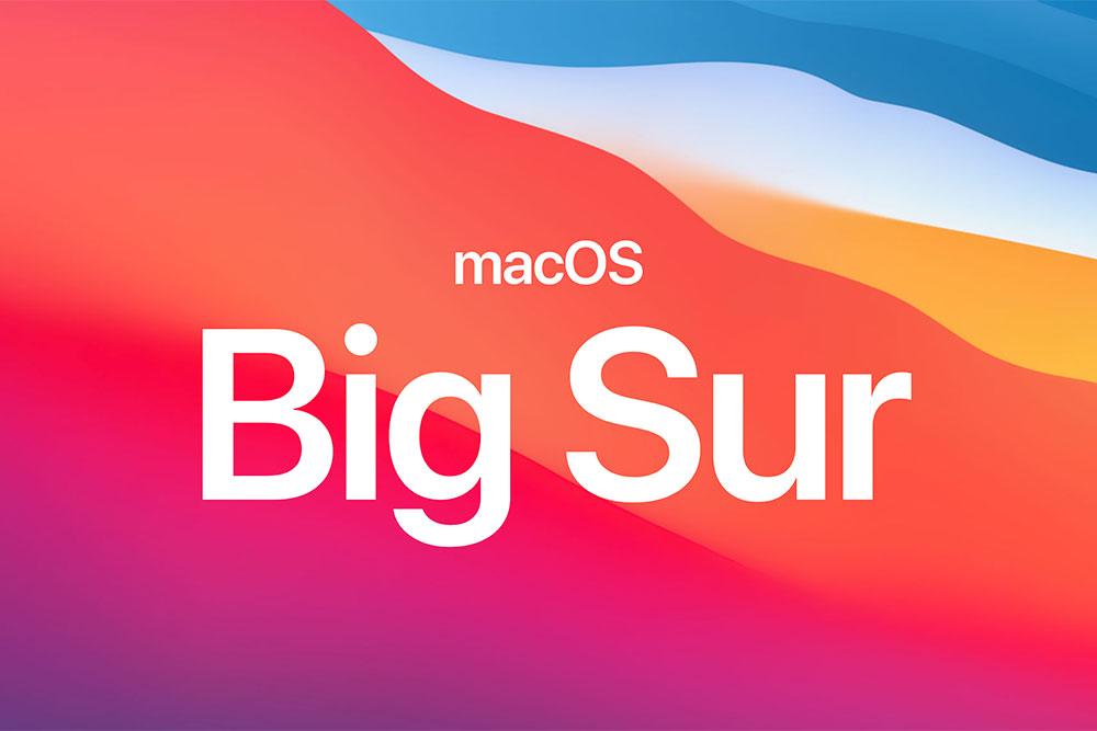 مک های سازگار با نسخه big Sur ( نسخه macOS )