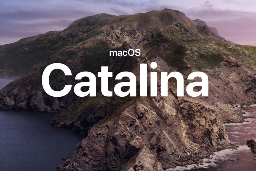 مک های سازگار با نسخه Catalina ( نسخه macOS )