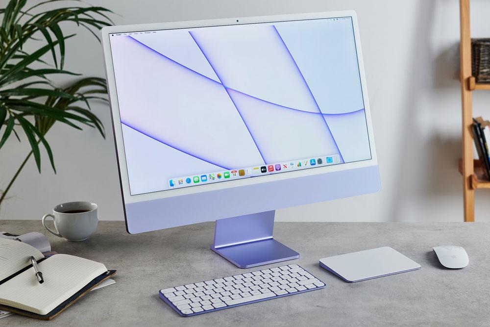 آیمک ۲۴ اینچ ۲۰۲۱ اپل با پردازنده M1 مدل MGPC3 (آیمک 24 اینچ مدل MGPC3)